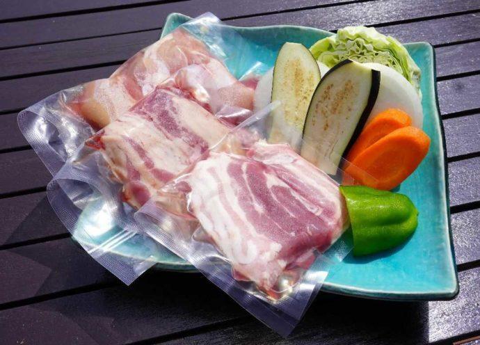 KIBOTCHAのバーベキューで準備してもらえる食材