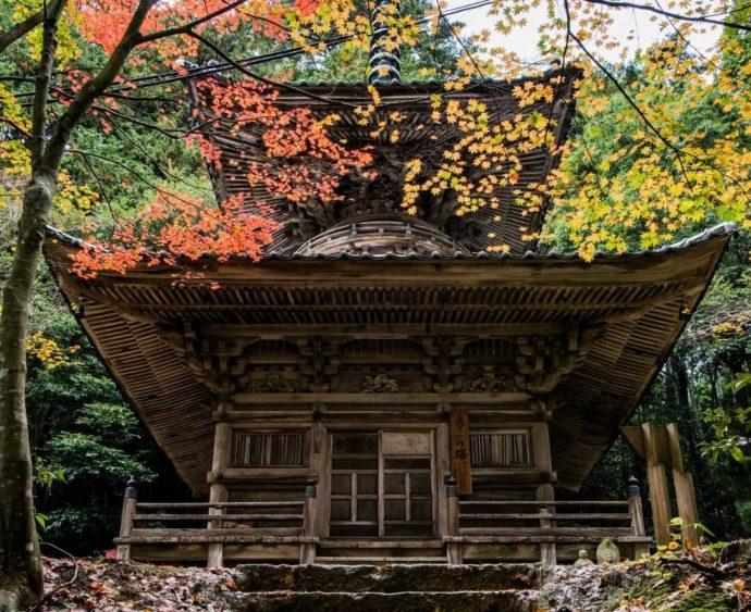 温泉寺の多宝塔