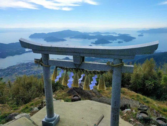 熊本県にある天草倉岳神社