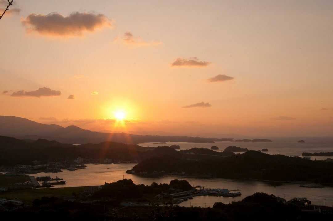 熊本・天草の夕日