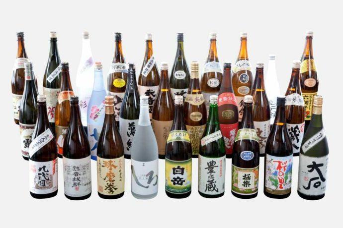 銀座熊本館で購入できる地酒
