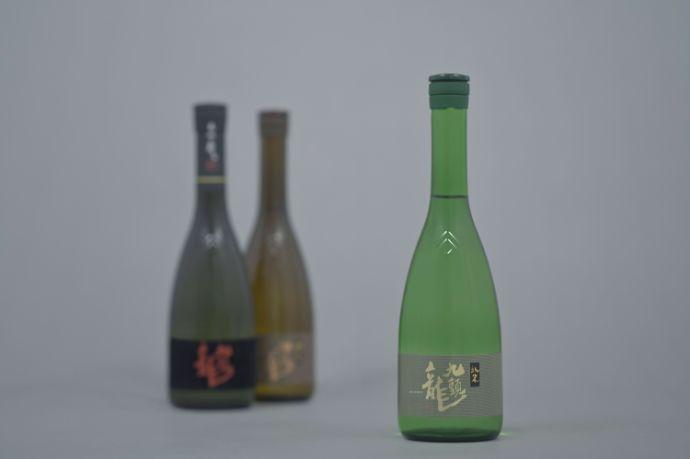 黒龍酒造で作られている「九頭龍」のブランドイメージ