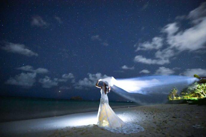 リノハワイの星空フォト