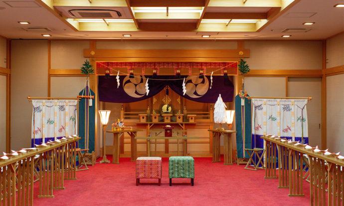 神前式の挙式会場「守禮」