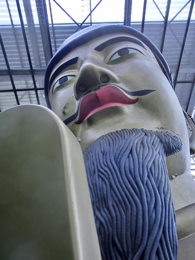 まぼろし博覧会の聖徳太子像