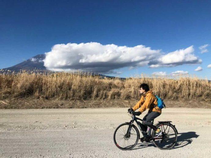 静岡県富士宮市にある「まかいの牧場」で体験できるE-BIKE