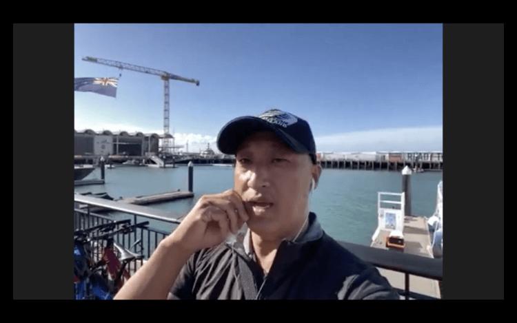 MAPPLE Activity Onlineのニュージーランドツアーのガイドさん
