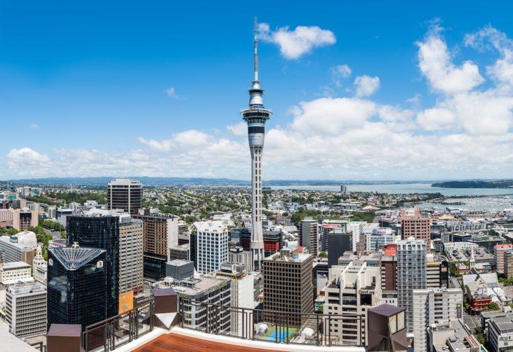 MAPPLE Activity Onlineのニュージーランドツアー(オークランド)で紹介したスカイ・タワー