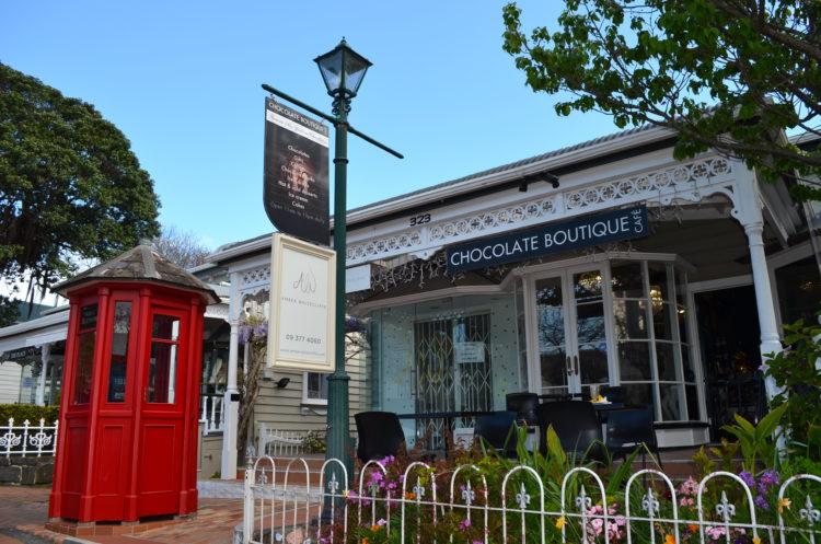 MAPPLE Activity Onlineのニュージーランドツアー(オークランド)で見られる街並み