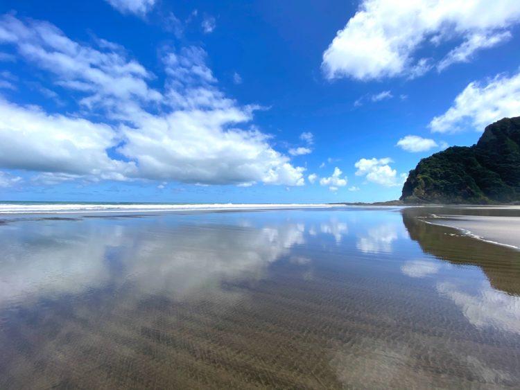 快晴のもと行われたMAPPLE Activity Onlineのニュージーランドツアー