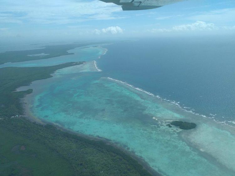 美しい海が見られるMAPPLE Activity Onlineのベリーズツアー