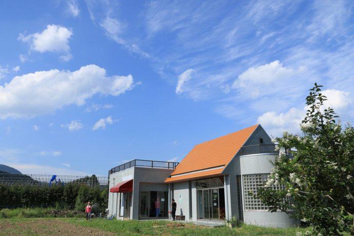 福島市の森のガーデンまるせい果樹園の農園