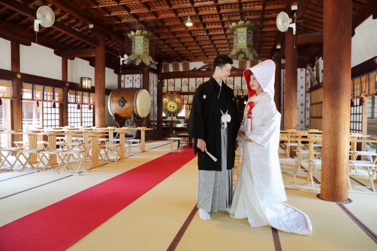 真清田神社の神前結婚式について