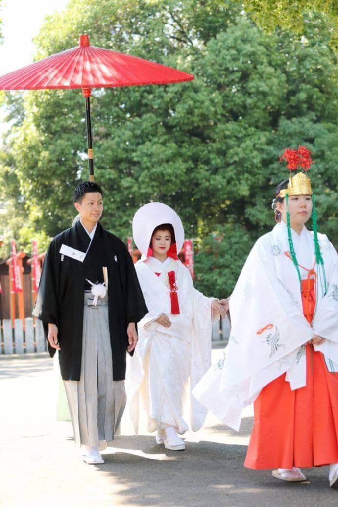 真清田神社の神前結婚式では実際にどのようなことを行いますか?