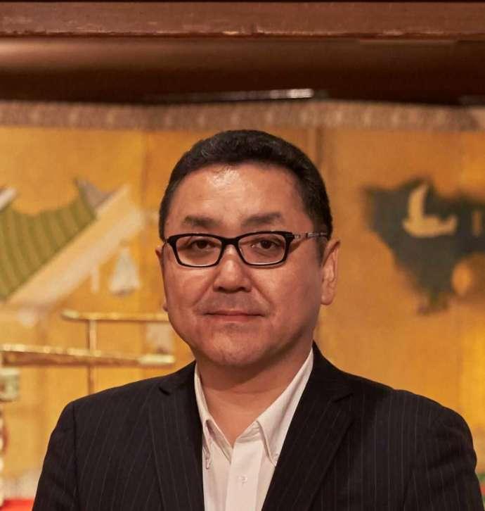 松浦史料博物館の学芸員の久家さん
