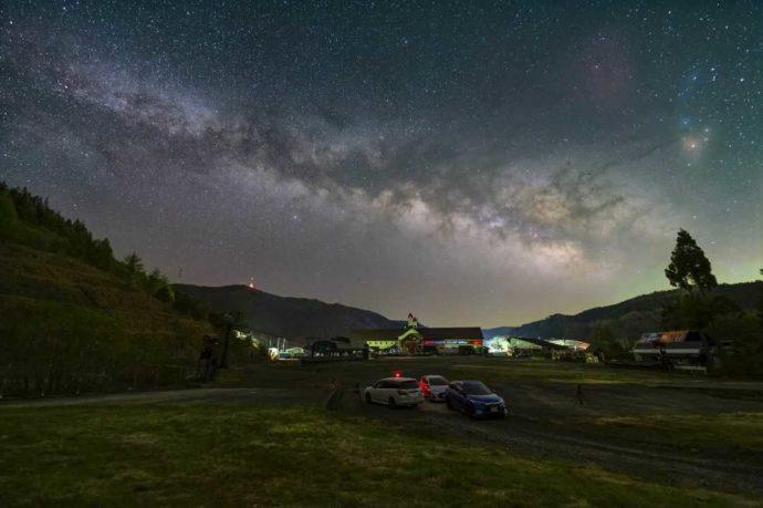 めいほう高原キャンプフィールドの夜