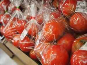 道の駅みかもで販売しているトマト