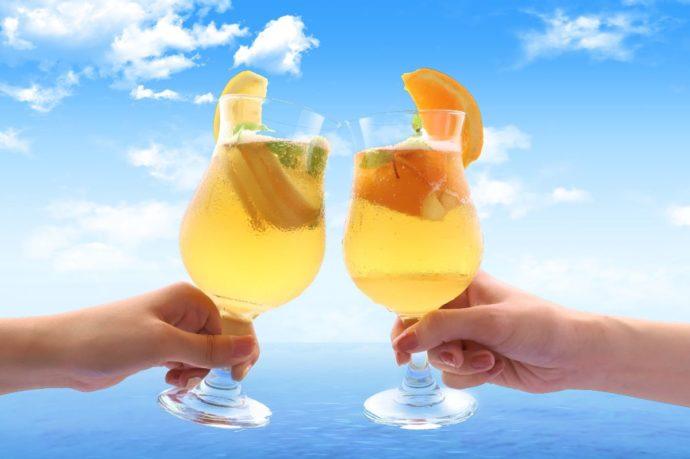 ミエレのレモンモヒートビールとオレンジモヒートビール