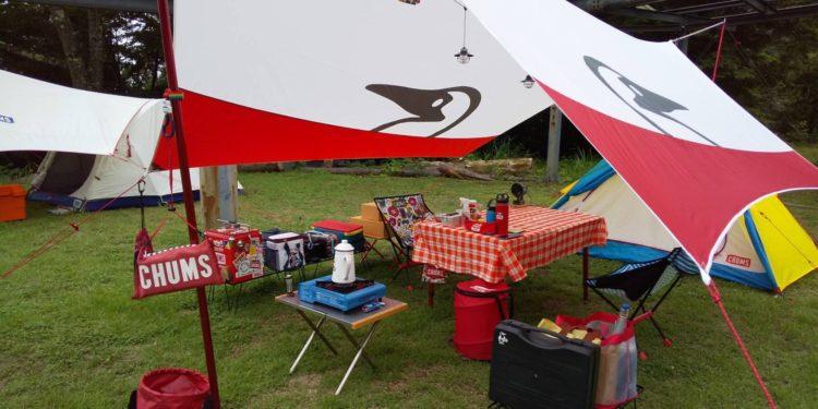 身延町みのぶ自然の里でキャンプに必要な道具