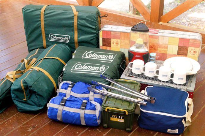 キャンプリゾート森のひとときのキャンプにおける持ち物・レンタル・服装について