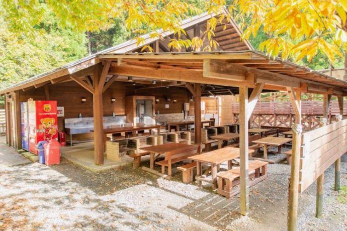 キャンプリゾート森のひとときにあるキャンプ場以外の施設について