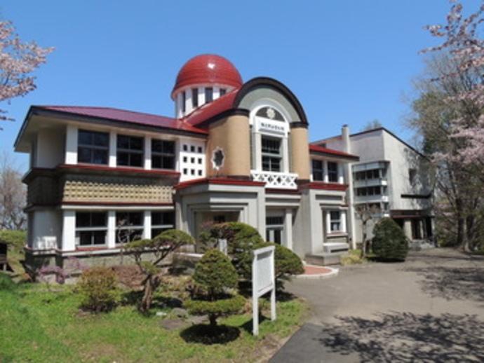 網走市立郷土博物館の外観
