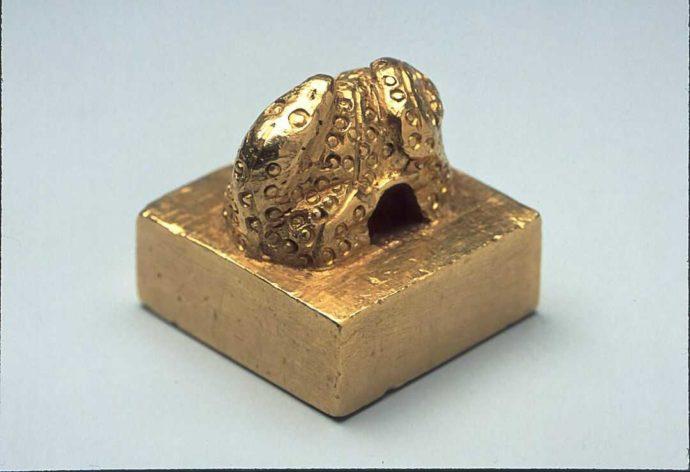 福岡市博物館に所蔵されている国宝の金印