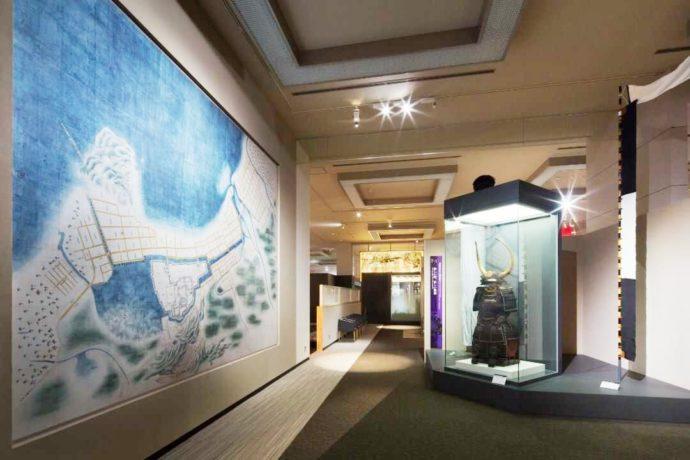 福岡市博物館の福岡藩に関する展示室