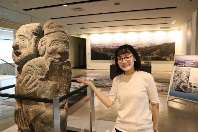 奈良文化財研究所飛鳥資料館のアソシエイトフェローを務める濱村美緒さん