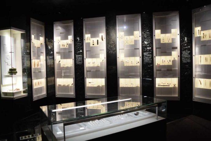 第一展示室奥・飛鳥池工房遺跡コーナー