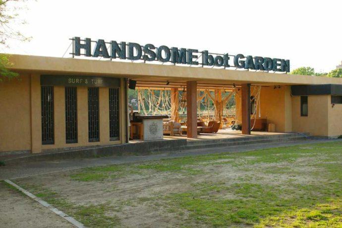 大阪市立長居植物園のカフェレストラン「HANDSOME bot GARDEN(ハンサムボットガーデン)」