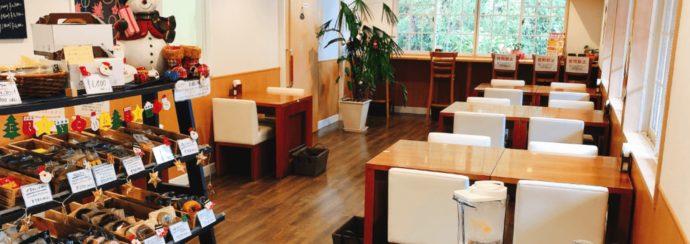 長崎県西海市にある「長崎バイオパーク」周辺にある「いちごの森」店内