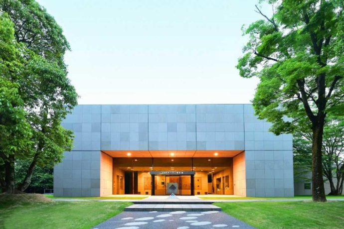 中冨記念くすり博物館の外観