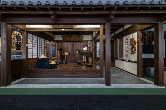 中冨記念くすり博物館の日本の薬舗
