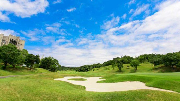 南紀白浜ゴルフ倶楽部のヨーロピアンな雰囲気があるゴルフコース