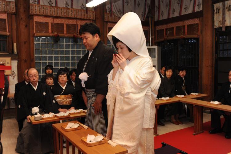 錦山天満宮における神前結婚式の流れについて