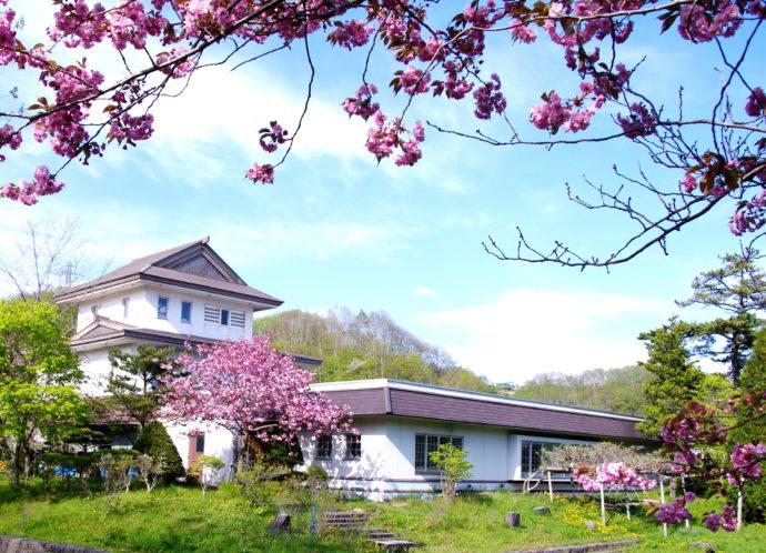 郷土資料館の外観写真