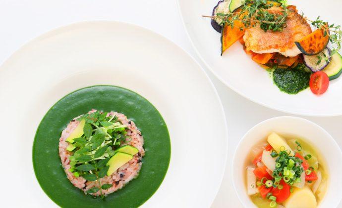 道の駅「のと千里浜」にあるレストラン「のとののど」で提供される料理