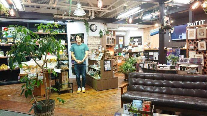 静岡県伊東市にあるアンテナショップNukumallのスタッフと店内の様子
