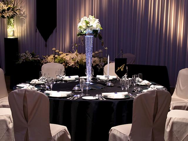 オークスカナルパークホテル富山のテーブルコーディネート「トゥインクル」