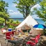山梨県山中湖村のキャンプ場「小田急山中湖フォレストコテージ」のキャンプデートの楽しみ方をレポート
