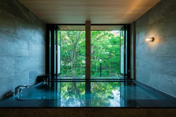 小田急山中湖フォレストコテージの大浴場