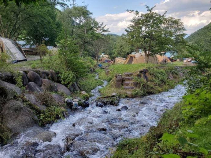 小黒川渓谷キャンプ場について