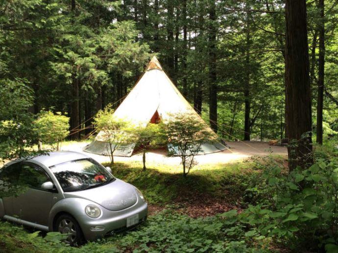 小黒川渓谷キャンプ場ではオートキャンプは可能でしょうか