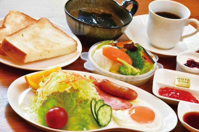 人吉温泉 相良路の湯 おおがの朝食