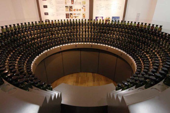大分県別府市にある大分香りの博物館で展示されているオルガン台
