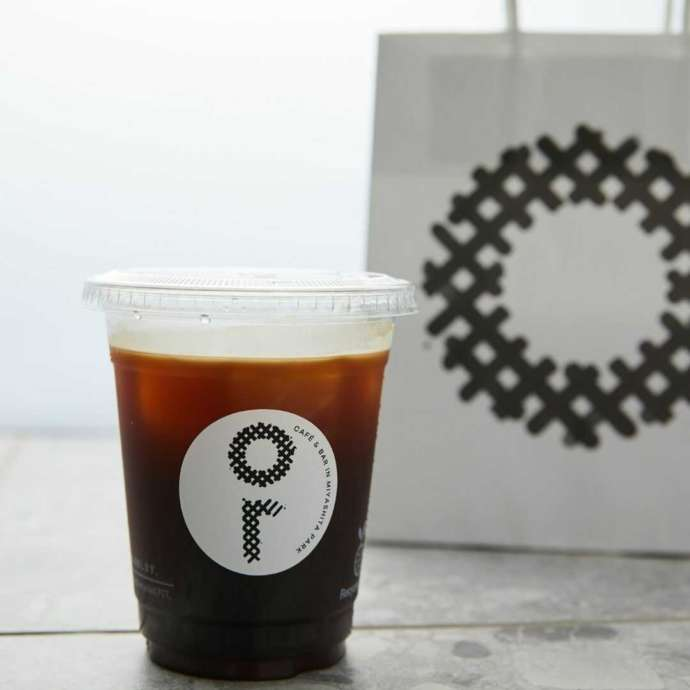 or MIYASHITA PARKのアイスコーヒー