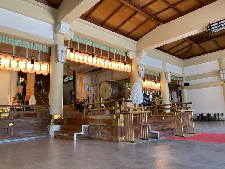大阪護国神社の神前結婚式について