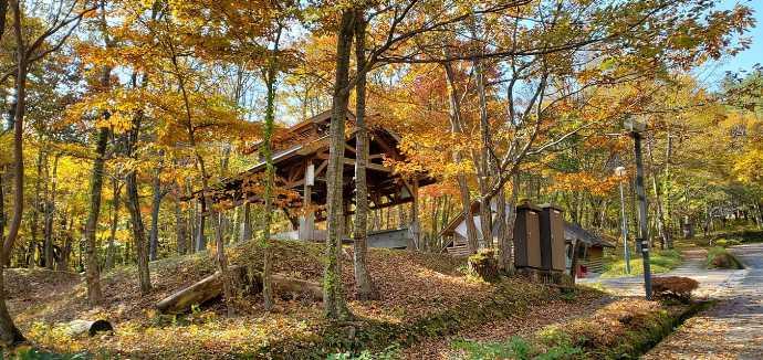 秋の恐羅漢エコロジーキャンプ場