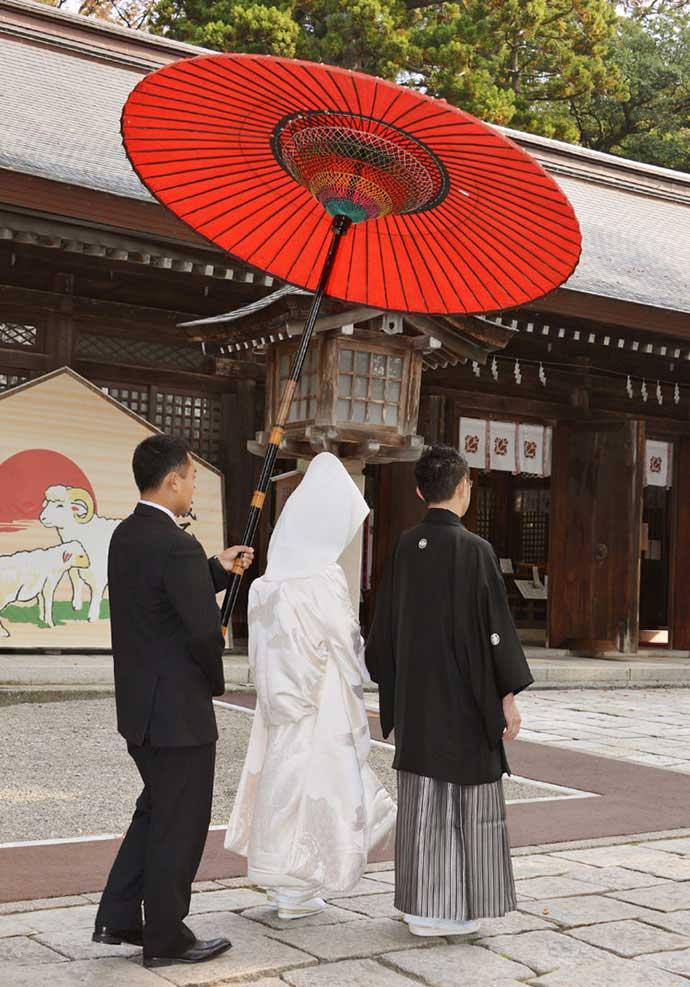 雄山神社前立社壇における神前結婚式の流れについて